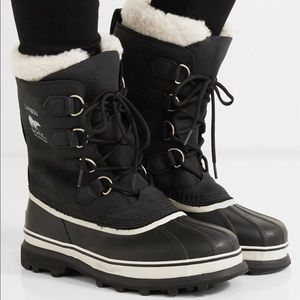 Caribou Sorel Boot, Black